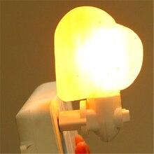 Crystal salt lamp Natural Himalayan Air Purifier Salt Lamp Ionic Rock Crystal Night Lights Colorful Color Himalayan Salt Lamp