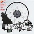 52V 500W батарея комплект для переоборудования электрического велосипеда переднее колесо бесщеточный мотор ступицы колеса Ebike конверсионный ...