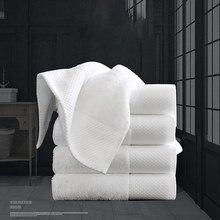 10-pack branco luxo algodão toalha hotel spa toalha de lavagem