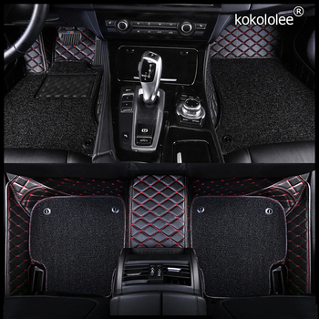 Custom car floor mats for Ford focus explorer Mustang edge Tourneo kuga mondeo fiesta ecosport Everest s-max c-max foot mats image