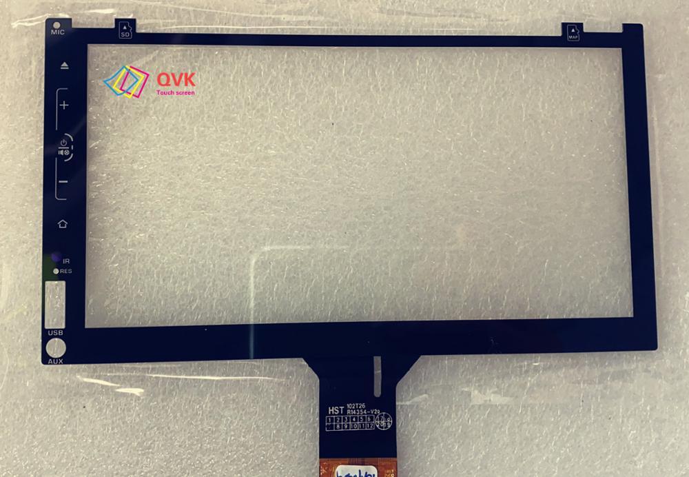 Черный сенсорный экран scren P/N HST 102T26 R14354-V2 Автомобильный навигатор gps сенсорный экран панель Ремонт Запасные части