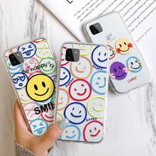 Jasne etui do Samsung A52 przypadkach Samsung Galaxy A51 A52 A71 A72 A70 A40 A41 A42 A50 A50S A30S A82 silikonowe miękkie powrót telefon skrzynki pokrywa tanie tanio Vanveet CN (pochodzenie) Bumper phone Case For Samsung A51 A52 A71 A72 A70 A40 A41 A42 A50 A50S A30S Zwykły W stylu rysunkowym