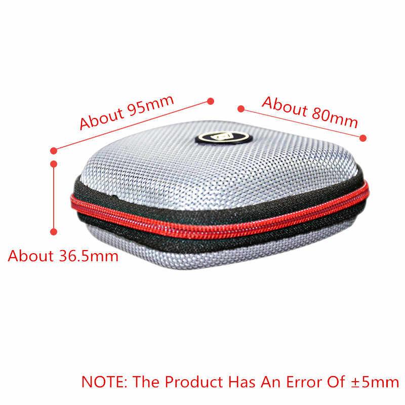 Nowy futerał na słuchawki KZ zestaw słuchawkowy Bluetooth kwadratowy przenośny zestaw słuchawkowy na kompresję EVA etui z suwakiem z logo ZST V80 ES4
