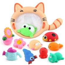 Рыболовные игрушки сетевая сумка для захвата мягкой резины детские