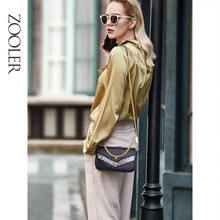 ZOOLER Fashion Leather Shoulder bag Famous Brand Women Luxury Handbags Ladies Chain Crossbody Bags For Women Messenger Bag#LT218