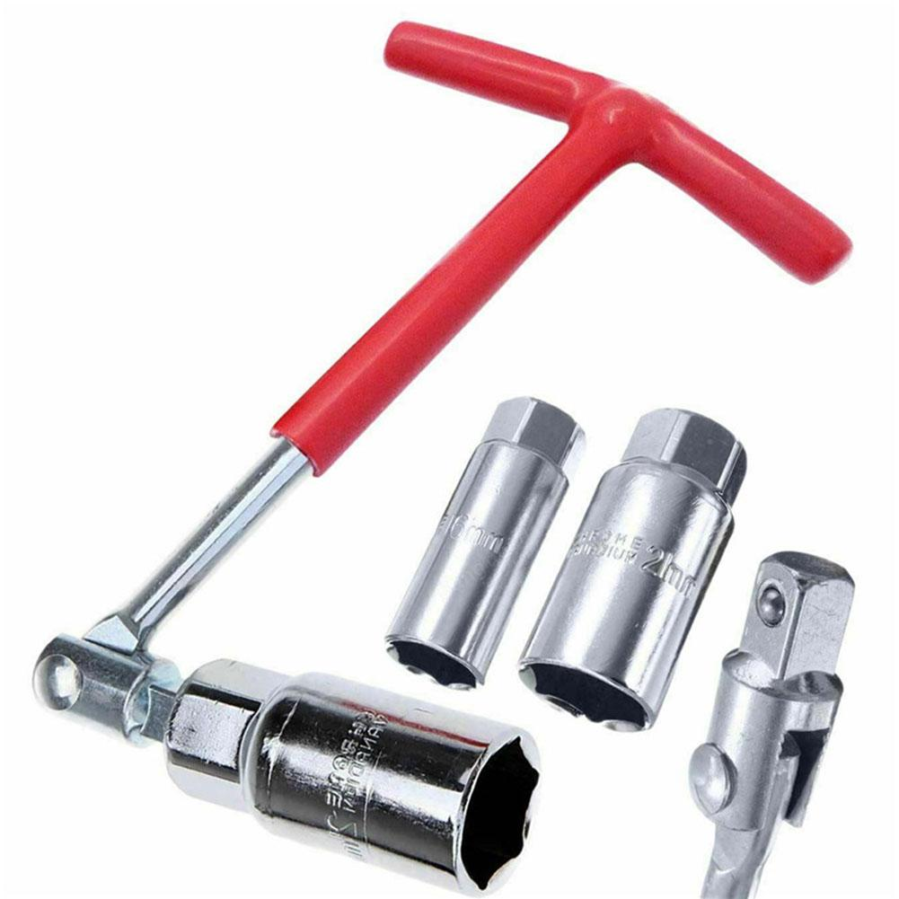 16mm Spark Plug Dual Use Universal Wrench Head Hand Tools Automobile Spark Plug Disassembly And Installation Tool