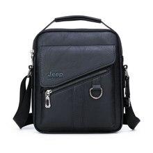 New Men Crossbody Bag Shoulder Bags Functional Men Handbags Large Capacity PU Leather Bag For Man Messenger Bags Tote Bag