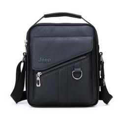 New Men Crossbody Bag Shoulder Bags Functional Men Handbags Large Capacity PU Leather Bag For Man Messenger Bags Tote Bag