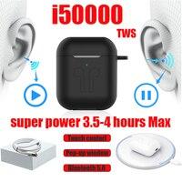 i50000 tws Wireless Earphone Super Bass support in ear detect sensor pk i12 i80 i200 i5000 i9000 i30000 tws original oordopjes