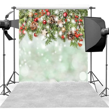 Christmas Photography Background Christmas Decorations Child Party Snow Bokeh Backdrop Decoration Props Banner for Photo Studio nostalgic style flax cloth photography background accessories for fruit food tabletop shooting studio photo backdrop decorations