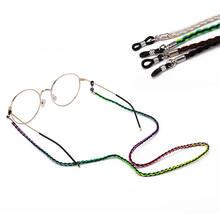 1 шт ремешок для очков очки чтения подвесная цепочка модные