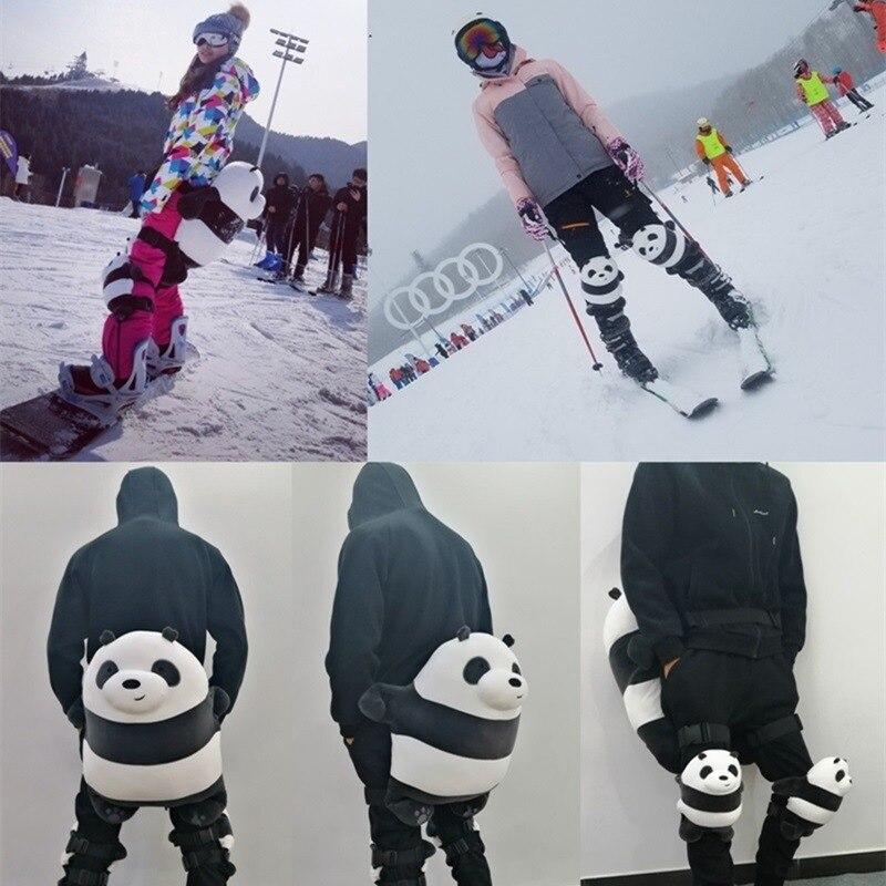 Hamster Hip Pad Protective Pillow Plush Toys Skiing Skating Shatter-resistant Kneecap Adult Children Kneepad Hippad Knee Sleeve