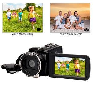 Image 5 - Full HD 4K Video Camera Wifi Handheld DV Professional Night Vision Anti Shake Digital Photo Camera Camcorder Flow Stabilizer