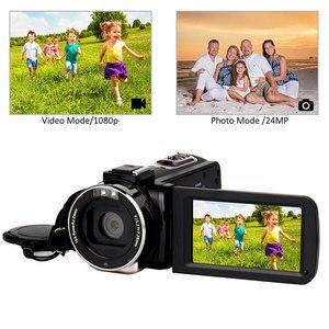 Image 5 - Full HD 4K Video kamera Wifi el DV profesyonel gece görüş Anti Shake dijital fotoğraf kamerası kamera akış sabitleyici