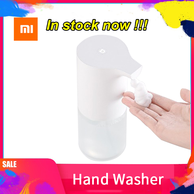 Xiaomi Mijia Automatic Induction Foaming Hand Washer Touchless Battery Operated Infrared Induction Soap Dispenser (White)