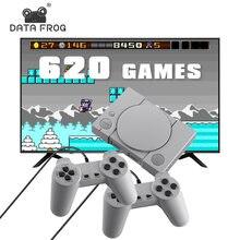 Консоль игровая 8 битная data frog 620 встроенных игр 2 игрока