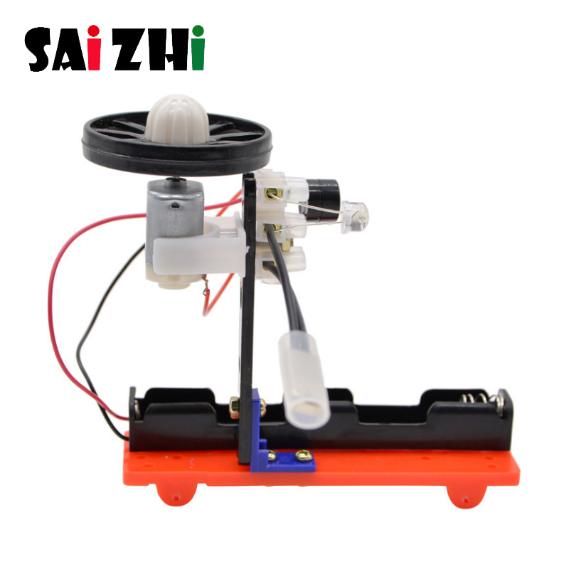 Saizhi Temperature Alarm Science Experiment Toy Science Educational Experimental Equipment Diy Material Kids Gift For Children