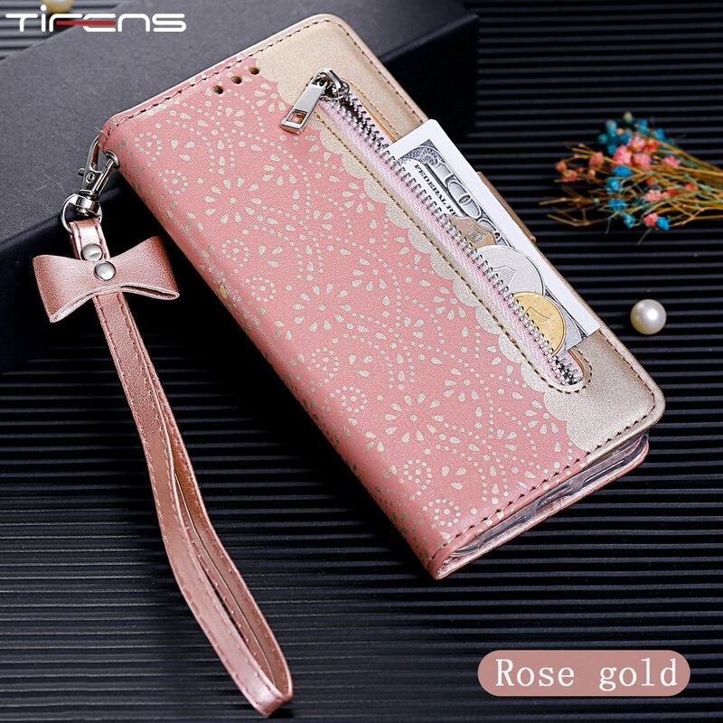 Flip Wallet Zipper Case For Samsung Galaxy A6 A7 A8 2018 M10 M20 M30 A10 A20 A30 A40 A50 A60 A70 Leather Phone Cover Etui Mujer