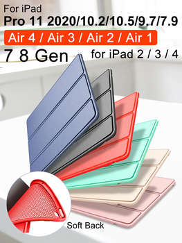 For iPad Air 2 Case Air 1 Air 4 Case iPad 10.2 2019 Pro 11 2020 Air 3 10.5 9.7 2018 Funda for iPad 6th 7th 8th Generation Case