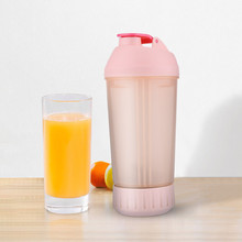 цена на Portable Juice Cup Blender Shaker Bottle Roller Manual Mixing Rolling Juicer Portable manual rotary juice cup A1