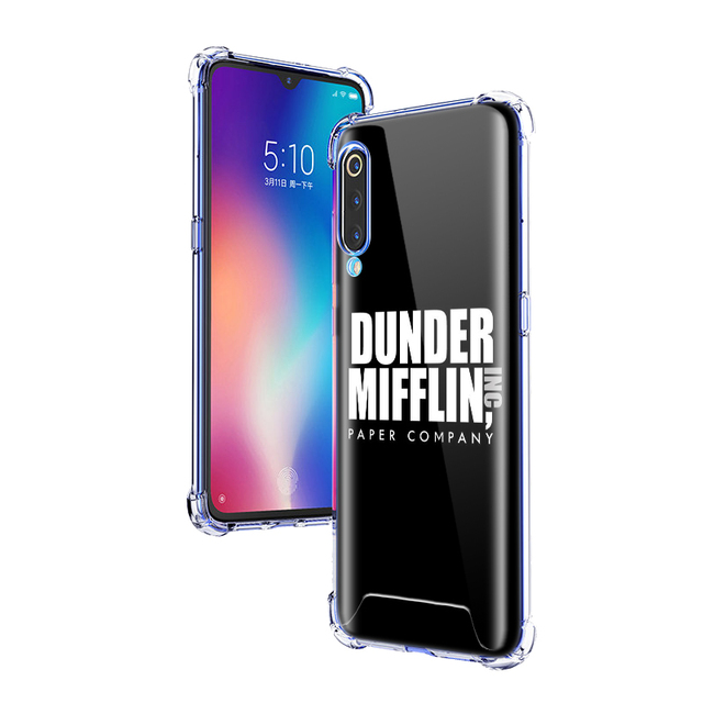 The Office Humor TV Case For Xiaomi Mi A3 9T Pro Note 10 CC9E 8 A2 Lite F1 Airbag Anti-Fall TPU Phone Cover Shell