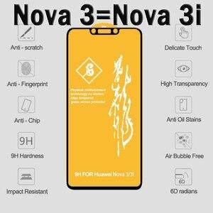Image 5 - Полное покрытие 6D для Huawei Honor 7X 8X, протектор экрана на Защитное стекло для Huawei P20 Pro Mate 10 20 Honor 9 Lite Nova 3 3i