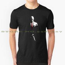 O assassino-o hitman verão engraçado t camisa para homem