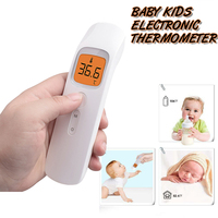Medical Household Handheld Digital IR Infrared Baby Electronic Thermometer Ear Forehead Thermometer Fever Test For Kids Adults