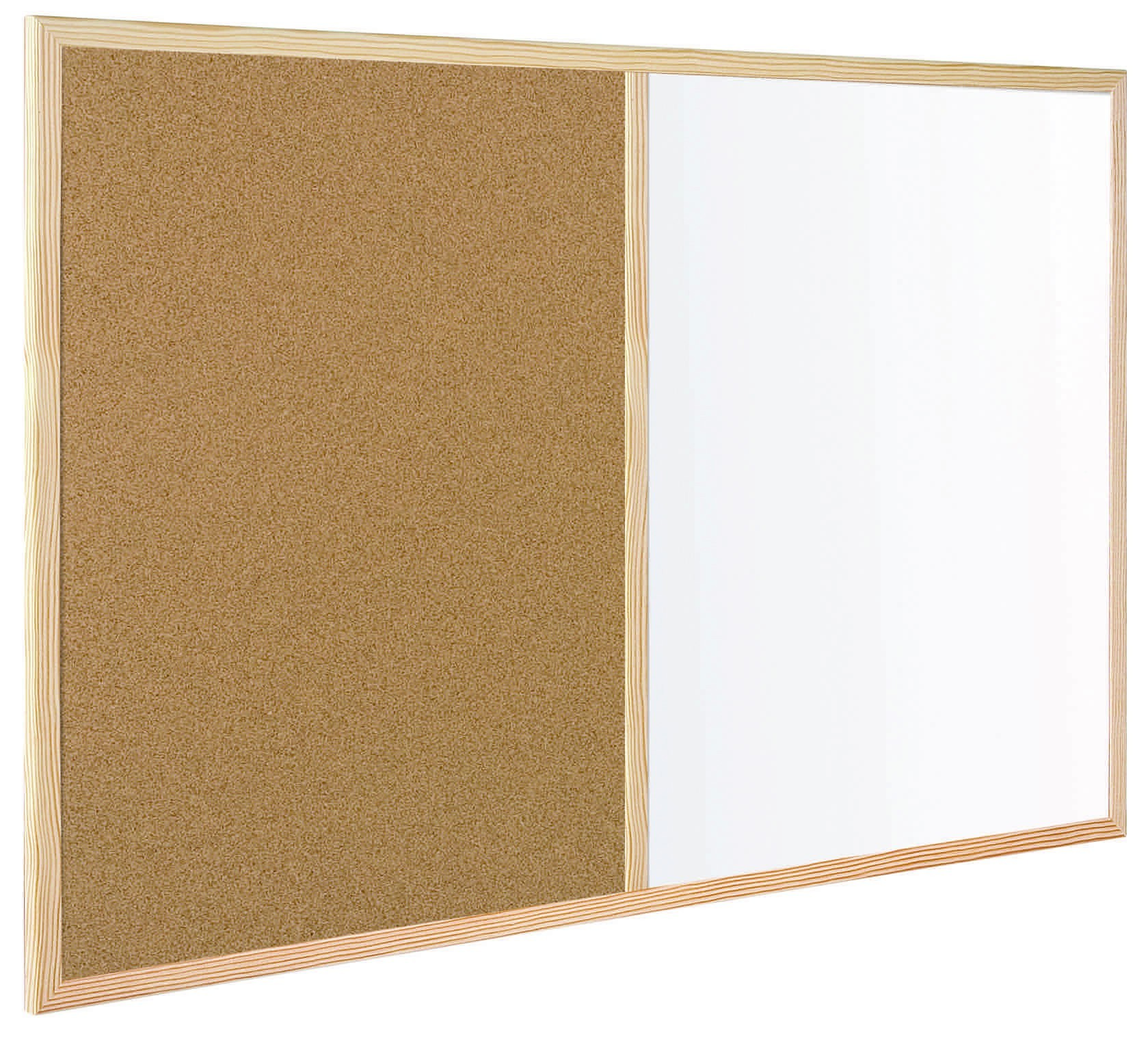 SLATE COMBO: HALF NATURAL CORK-HALF MELAMINE 90x60cm 1 Unit