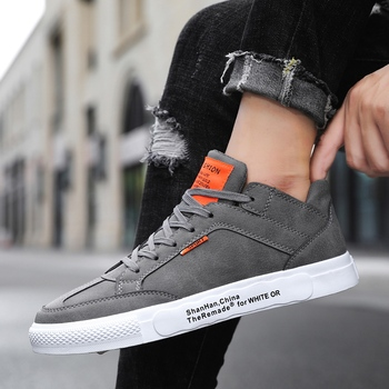 Sneakers men 2019 new comfortable high-top skate shoes breathable wear men's shoes Zapatos Hombre image