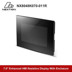 Image 2 - Nextion Enhanced NX8048K070 011R   7.0 Full color LCD Display HMI Resistive Touch Screen Module Built in RTC With Enclosure
