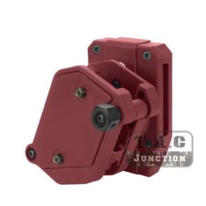 "Image 2 - IPSC מגזין נרתיק + חגורה סט USPSA IDPA 1.5 ""ירי פנימי וחיצונית חגורה גבוהה מהירות 3/4 /5x רב זווית מהירות אקדח Mag פאוץ"