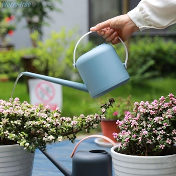 1800Ml Long Mouth Water Cans Home Plant Pot Bottle Watering Device Fleshy Bonsai Control Water Output Practical Garden Tool
