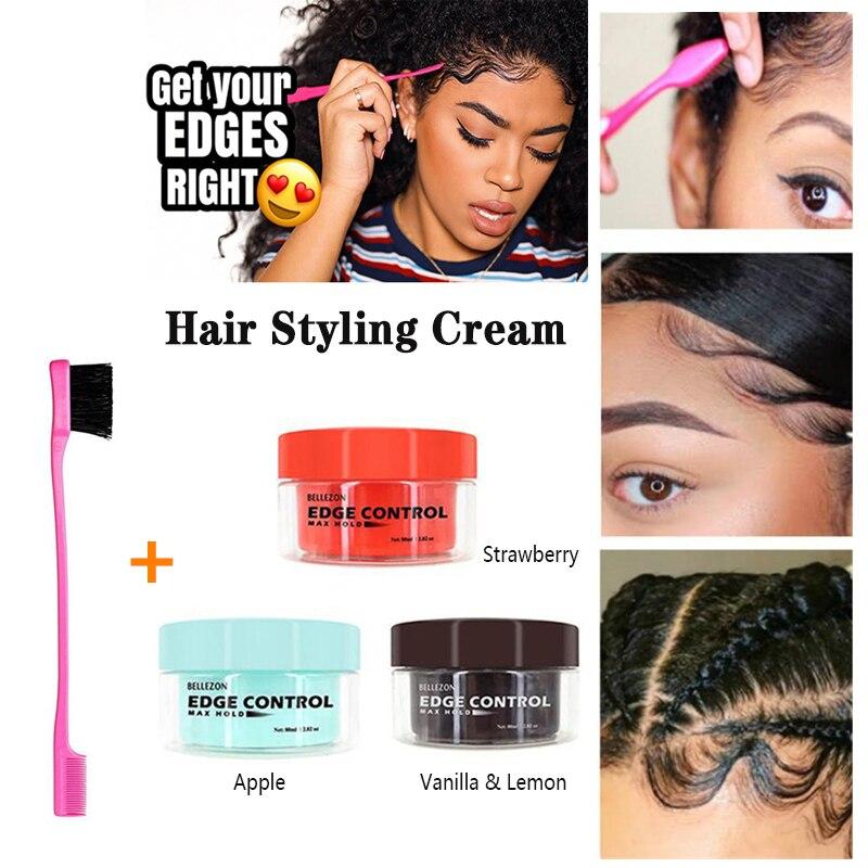 Профессиональное масло для волос восковой крем сильный стиль контроль края волос стайлинг крем сломанные волосы отделка анти-завивка воло...
