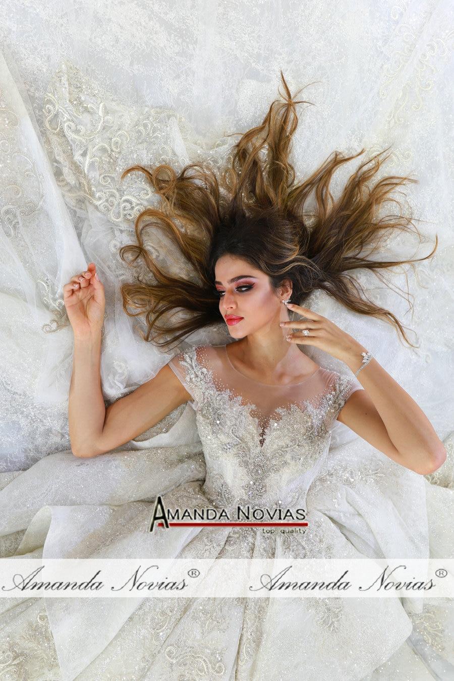 Image 5 - Аманда Novias Свадебное платье 2020, роскошное свадебное платье 2020Свадебные платья    АлиЭкспресс