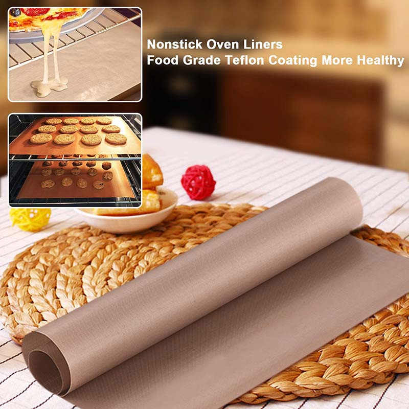 Cooking Mats For Baking Non Stick Silicone 8 Pcs Reusable Baking Mat Sheet Baking Tray Liner Washable Heat Resistant Baking Mats Cake Baking Mats