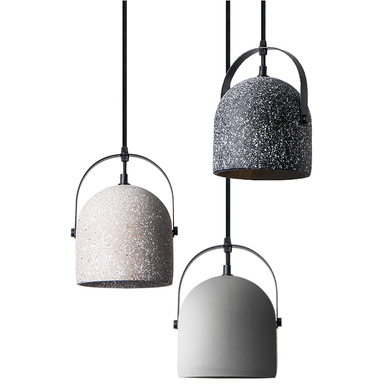 Nordic Design Terrazzo Cement Ceramic Pendant Light Farmhouse Kitchen Island Lighting Indoor Home Dinning Table Light Fixture Pendant Lights Aliexpress