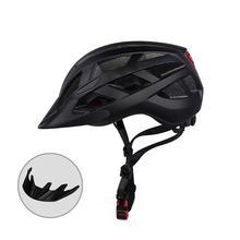 Электрический скутер велосипед шоссейный горный велосипед шлем для верховой езды EPS Сверхлегкий защита головы велосипедные шлемы с фонариком