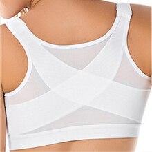 Women Yoga Vest Push Up Zipper Workout Sport Shirts Weight Loss Body Shaper Work