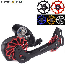 Bicycle Rear Derailleur Chain Guide Wheel FMF 11T 13T For 8 9 10 11 Speed Derailleur Ceramics Bearing and Metal Bearing Material microshift rd r47s 11 28t 10 9 speed road bicycle rear derailleur aluminum compatible for 10 9 speed road rear derailleur