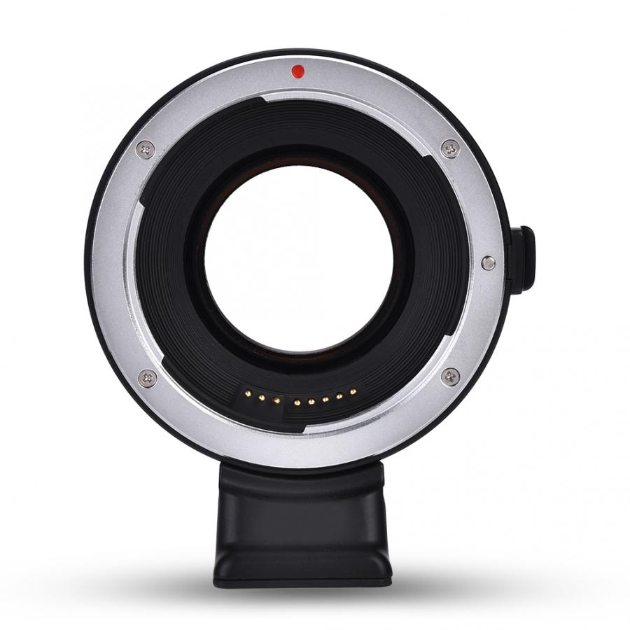 VILTROX adaptateur d'objectif en métal électrique Auto Focus adaptateur d'objectif pour Canon EF objectif pour Sony APS-C caméras Macro anneau
