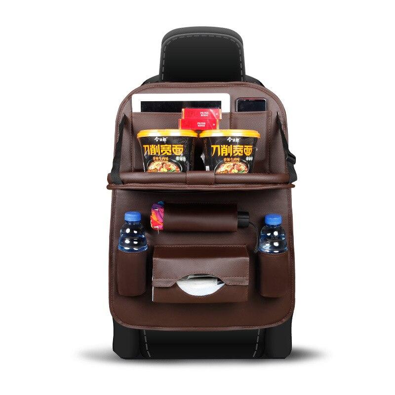 MoFan car interior supplies seat back multi-function tray storage bag box
