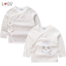 Детские топы для сна из 2 предметов; футболки с веревками; одежда для сна из хлопка