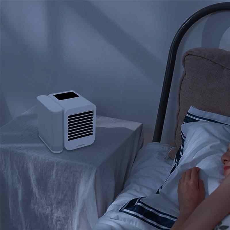 Microhoo 3 Trong 1 Mini Điều Hòa Nước Làm Mát Màn Hình Cảm Ứng Thời Gian Artic Mát Máy Phun Sương Tạo Độ Ẩm