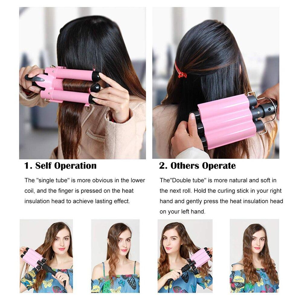 do cabelo ondulado modelador de cabelo profissional