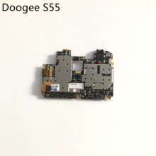 DOOGEE S55 Used Mainboard 4G RAM+64G ROM Motherboard For DOOGEE S55 MTK6750T Octa Core 5.5inch 720x1440 Free Shipping