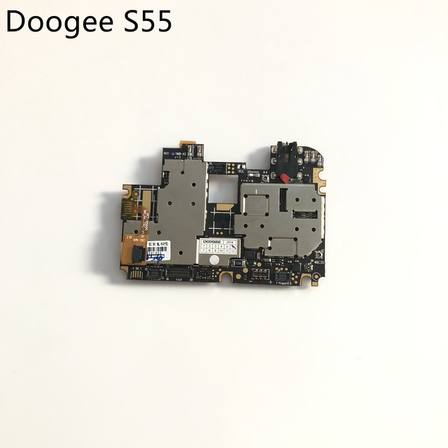 DOOGEE S55 kullanılan anakart 4G RAM + 64G ROM anakart DOOGEE S55 MTK6750T Octa çekirdek 5.5 inç 720x1440 ücretsiz kargo