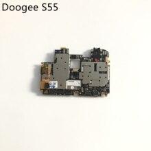 Doogee s55 usado mainboard 4g ram + 64g rom placa mãe para doogee s55 mtk6750t octa núcleo 5.5 polegada 720x1440 frete grátis