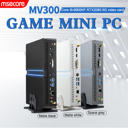 MSECORE I9 9900KF RTX2060 6G Dedicated card DDR4 game Mini PC gaming pc linux intel Windows 10 Desktop Computer HTPC DP HDMI2.0