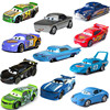 Disney Pixar Cars 2 3 New Jackson Storm Ramirez Lightning McQueen 1:55 Diecast Vehicle Metal Alloy Boy Kid Toys Xmas Gift